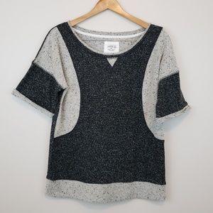[ bcg ] Athletic Short Sleeve Sweatshirt
